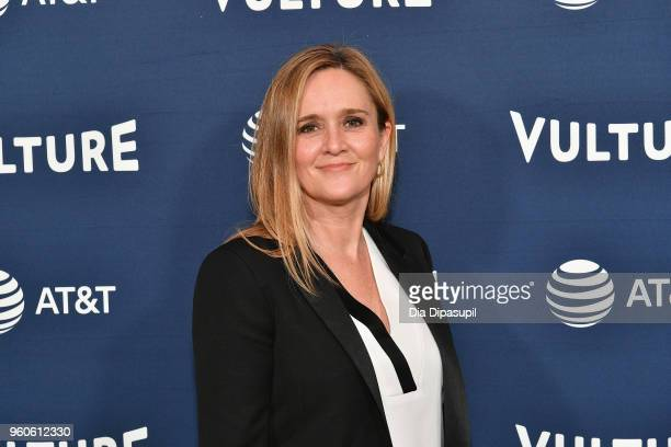 Comedian Samantha Bee attends Day Two of the Vulture Festival Presented By ATT at Milk Studios on May 20 2018 in New York City