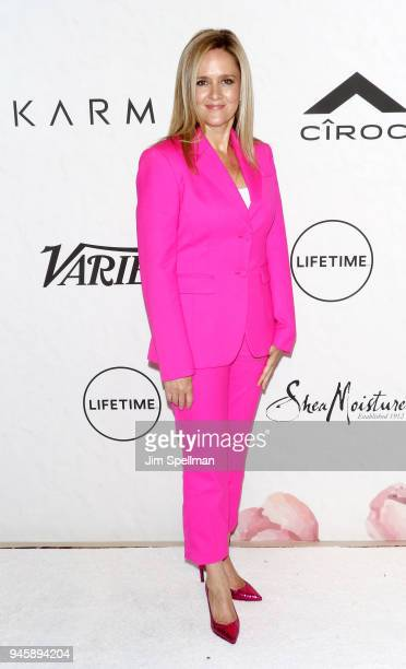 Comedian Samantha Bee attends the 2018 Variety's Power of Women New York at Cipriani Wall Street on April 13 2018 in New York City