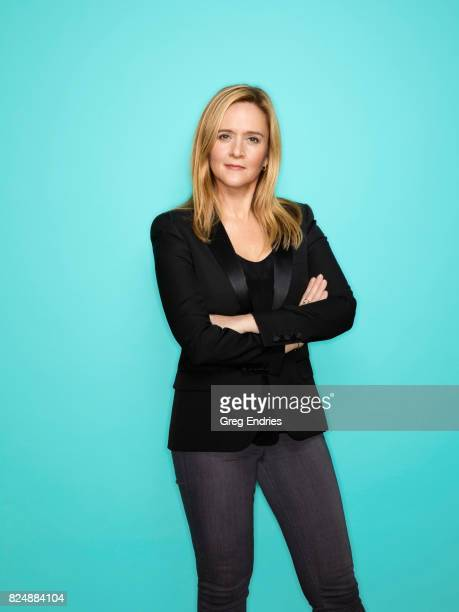 Comedian Samantha Bee is photographed for Emmy Magazine on March 2 in New York City