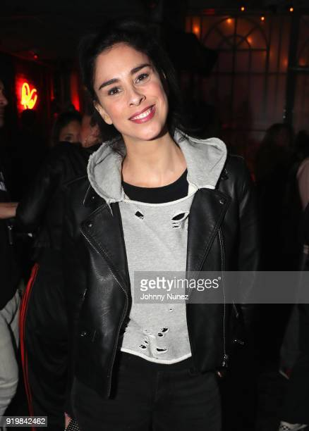 Comedian Sarah Silverman attends as Remy Martin presents Beats Party on February 17 2018 in Los Angeles California
