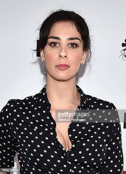 Comedian Sarah Silverman attends TrevorLIVE LA 2015 at Hollywood Palladium on December 6 2015 in Los Angeles California