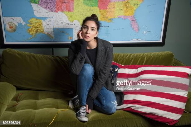 Comedian Sarah Silverman is photographed for Los Angeles Times on November 30 2017 in Los Angeles California PUBLISHED IMAGE CREDIT MUST READ Robert...