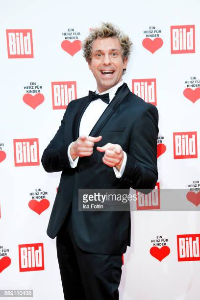 Comedian Sascha Grammel attends the 'Ein Herz fuer Kinder Gala' at Studio Berlin Adlershof on December 9 2017 in Berlin Germany