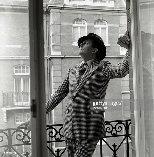 Comedian satirist artist and author Barry Humphries is photographed on May 22 1983 in London England