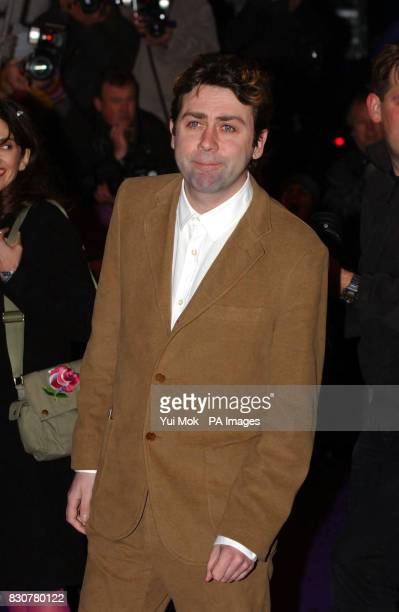 Comedian Sean Hughes arriving for the British Comedy Awards 2001 at London Weekend Television Studios in London
