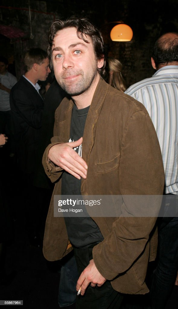 Comedian Sean Hughes attends the MORE4 TV Launch Party, launching Channel 4's adult entertainment digital channel, at the Shunt Vaults on October 6, 2005 in London, England.