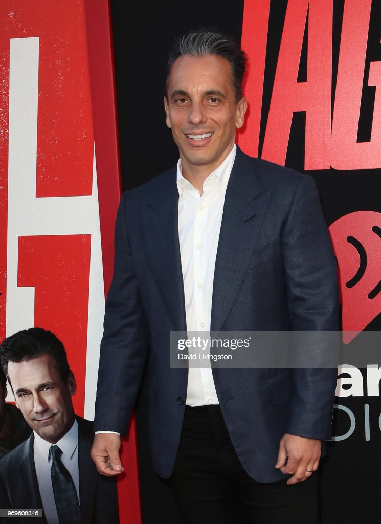 Comedian Sebastian Maniscalco attends the premiere of Warner Bros