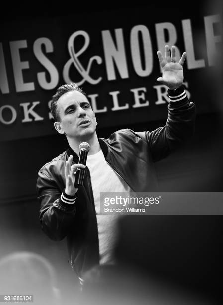 Comedian Sebastian Maniscalco during the signing of his new book 'Stay Hungry' at Barnes Noble at The Grove on March 13 2018 in Los Angeles...