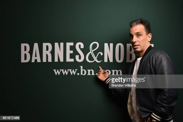 Comedian Sebastian Maniscalco poses for portraits during the signing of his new book 'Stay Hungry' at Barnes Noble at The Grove on March 13 2018 in...