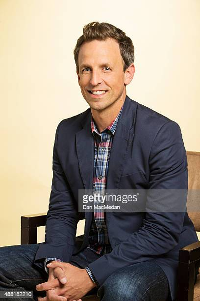 Comedian Seth Meyers is photographed for USA Today on July 31 2015 in Beverly Hills California