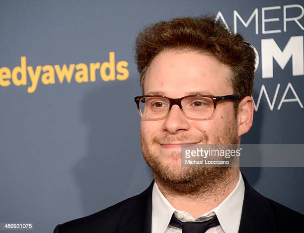 Comedian Seth Rogen attends 2014 American Comedy Awards at Hammerstein Ballroom on April 26, 2014 in New York City.