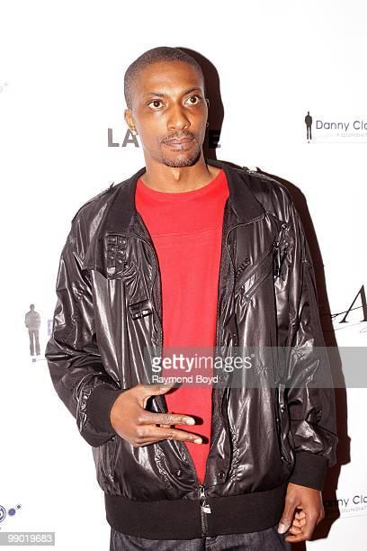 "Comedian Shawn Morgan, winner of Bill Bellamy's ""Who's Got Jokes"" Season 2 television show poses for photos at the Harold Washington Cultural Center..."