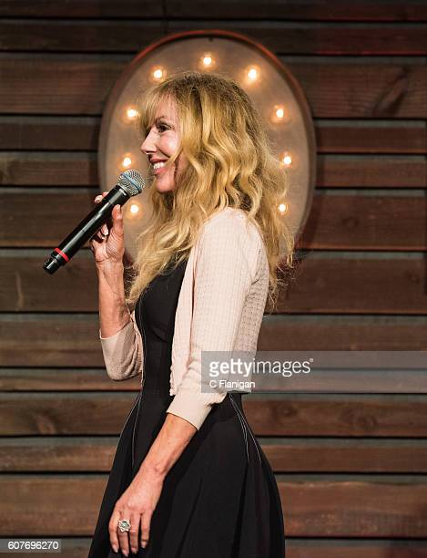 Comedian Shelby Chong performs on the Humor Me Stage during the 2016 KAABOO Del Mar at the Del Mar Fairgrounds on September 18 2016 in Del Mar...