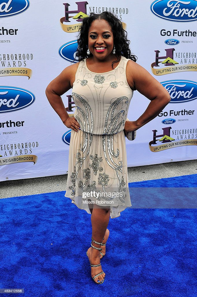 Comedian Sherri Shepherd attends the 2014 Ford Neighborhood Awards Hosted By Steve Harvey at the Phillips Arena on August 9, 2014 in Atlanta, Georgia.