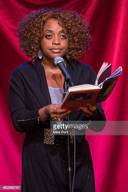 Comedian Sherri Shepherd performs in the 2014 Celebrity Autobiography show at Stage 72 on January 13 2014 in New York City