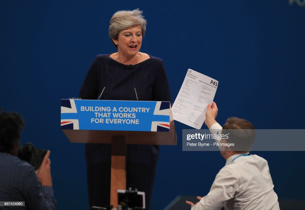 Conservative Party Conference 2017 : News Photo