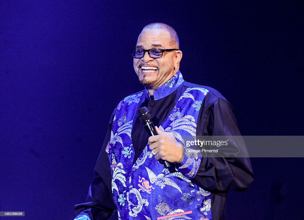Comedian Sinbad performs at the David Foster Foundation Miracle Gala And Concert held at Mattamy Athletic Centre on September 26, 2015 in Toronto, Canada.