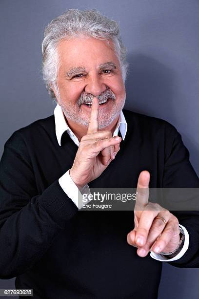 Comedian, singer and French actor Roland Magdane Photographed in PARIS