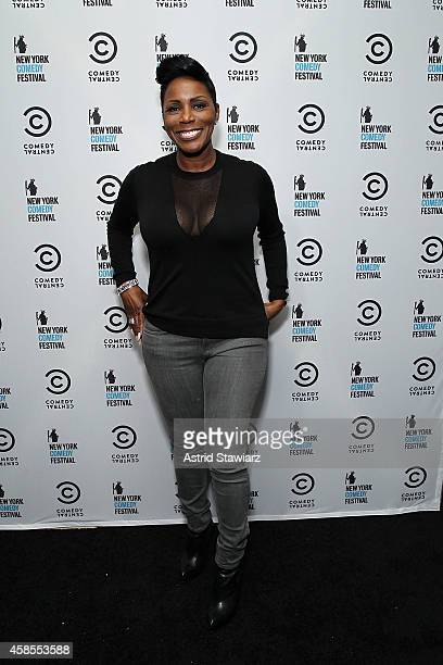 Comedian Sommore attends The New York Comedy Festival Annual KickOff Party on November 6 2014 in New York City