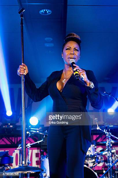 Comedian Sommore performs at the 2015 Essence Music Festival on July 5 2015 in New Orleans Louisiana