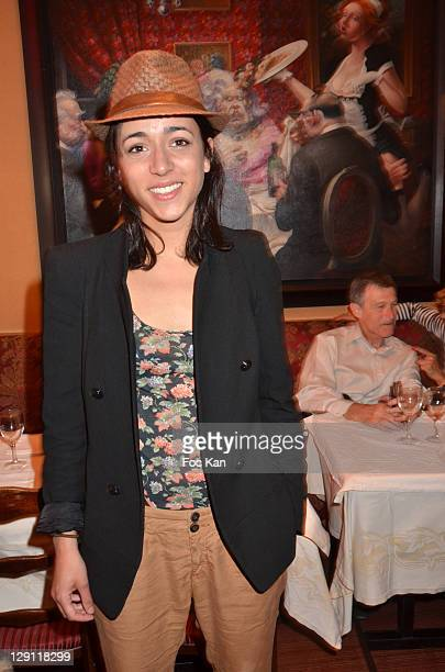 Comedian Sophie Mourousi attends the Mondial la Marseillaise a Petanque 2011 Press Conference at Hotel Normandy on May 5 2011 in Paris France