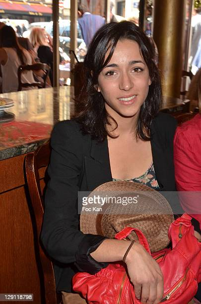 Comedian Sophie Mourousi attends the Mondial la Marseillaise a Petanque 2011 - Press Conference at Hotel Normandy on May 5, 2011 in Paris, France.