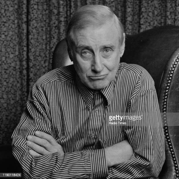 Comedian Spike Milligan interviewed for the BBC Radio 4 series 'The Milligan Papers' December 1986