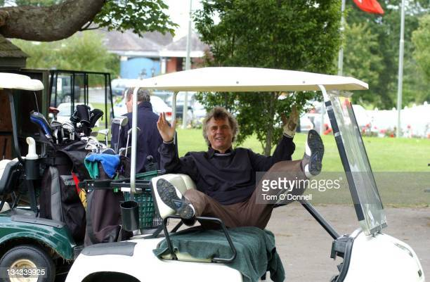 Comedian Stan Boardman attends the Marie Keating Golf Outing in aid of cancer awareness at the K Club Dublin Ireland July 19 2004 Ronan Keating could...