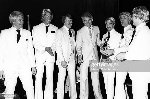 Comedian Steve Martin appears at an event 6 look a likes n on March 10 1979 in Los Angeles California