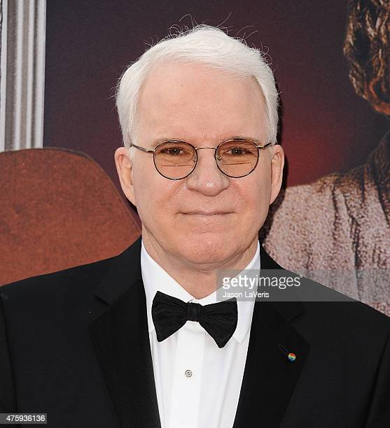 Comedian Steve Martin attends the 43rd AFI Life Achievement Award gala at Dolby Theatre on June 4 2015 in Hollywood California