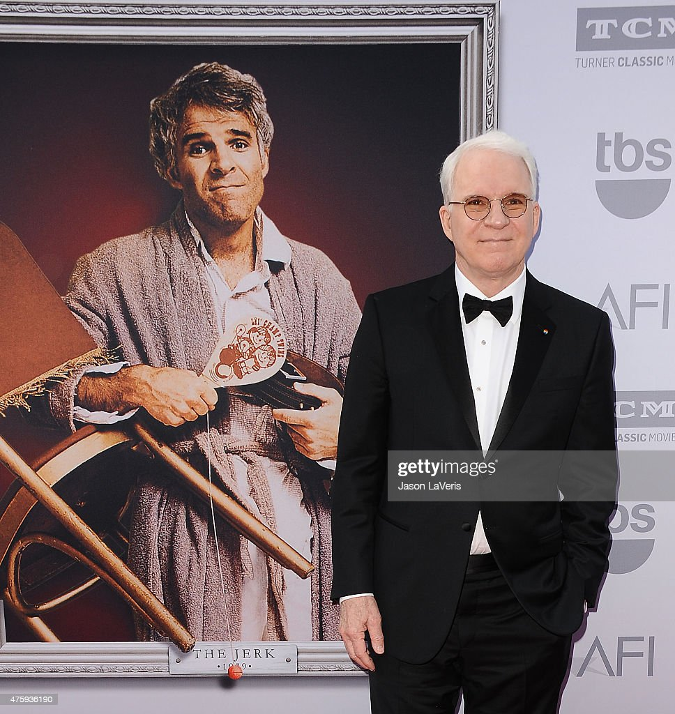 Comedian Steve Martin attends the 43rd AFI Life Achievement Award gala at Dolby Theatre on June 4, 2015 in Hollywood, California.