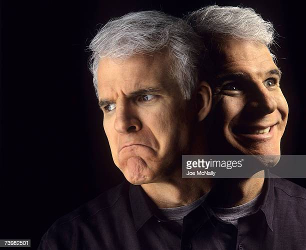 Comedian Steve Martin poses for photos on January 1992 in Santa Barbara California Martin gained much notority in the mid1970's when he made frequent...