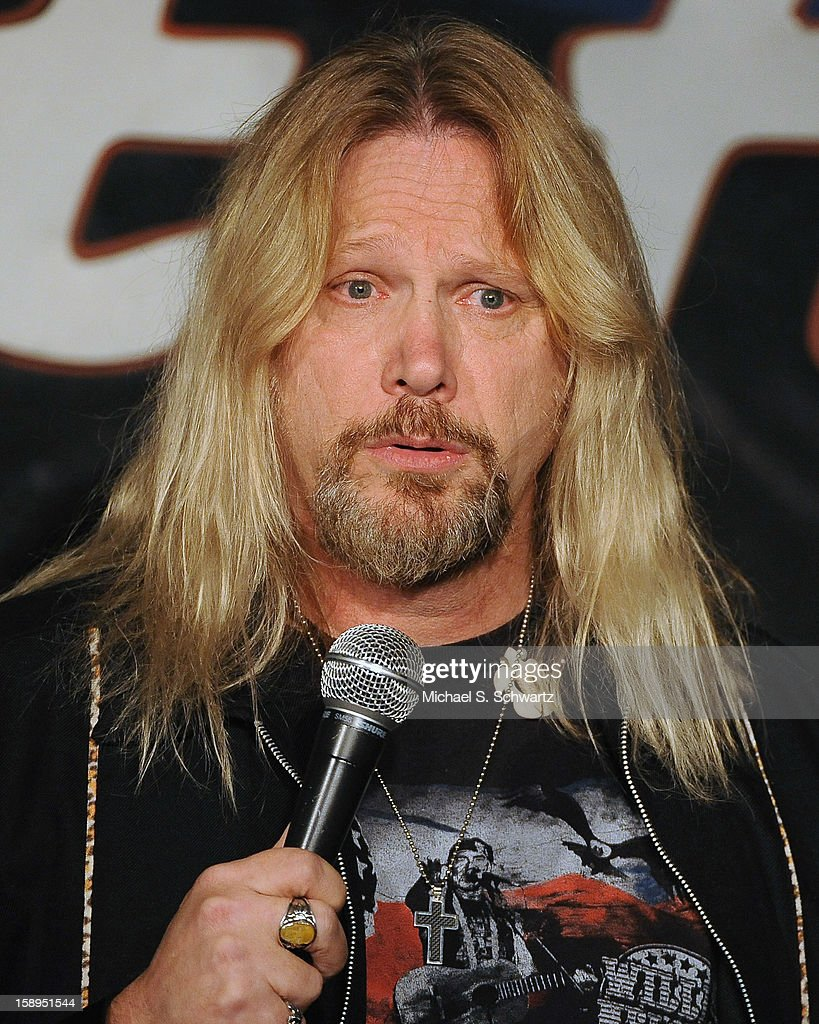 Comedian Steve McGrew performs during his appearance at The Ice House Comedy Club on January 3, 2013 in Pasadena, California.