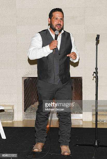 Comedian Steve Trevino attends All About the Animals Homeless to Haute Gala at Monarch Beach Resort on September 18, 2016 in Dana Point, California.
