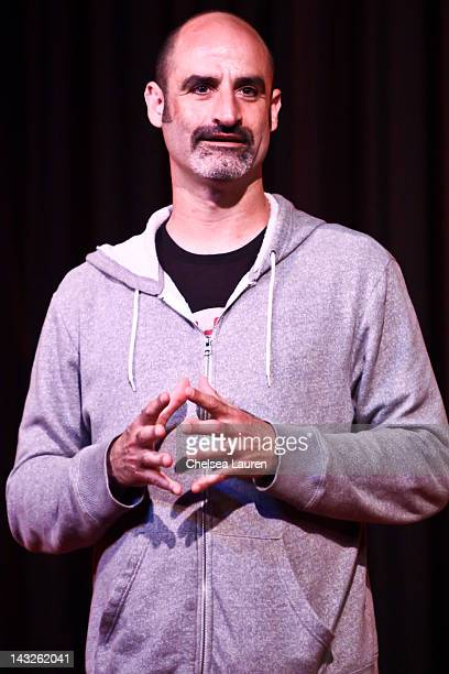 Comedian Steven Brody Stevens performs at The Comedy Store's 40th anniversary celebration at The Comedy Store on April 21 2012 in West Hollywood...
