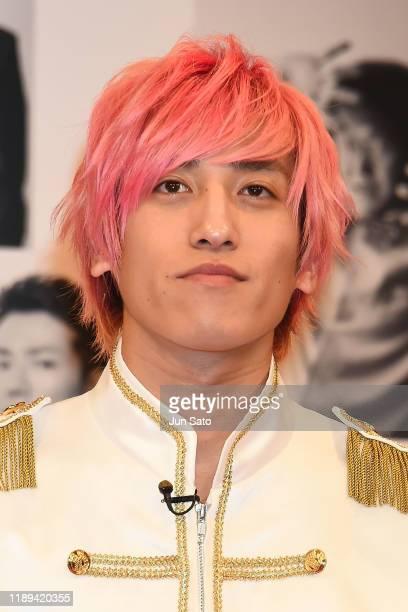 Comedian Taiki Kanechika of EXIT attends the Yoshimoto 'Otokomae Busaiku' - handsome or ugly comedian - Ranking at Yoshimoto Hall on December 18,...