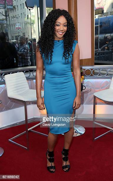 Comedian Tiffany Haddish attends Hollywood Today Live at W Hollywood on November 7 2016 in Hollywood California