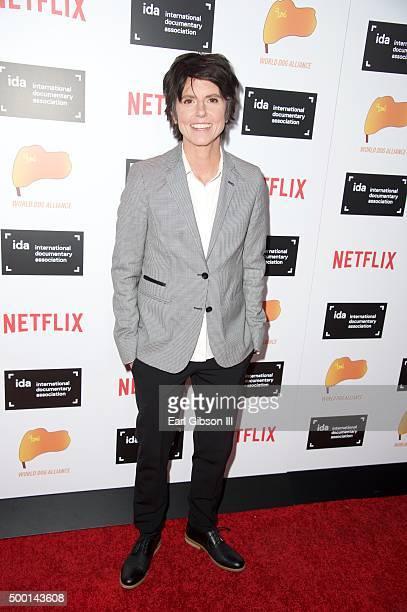Comedian Tig Nataro attends the 2015 IDA Documentary Awards at Paramount Studios on December 5 2015 in Hollywood California