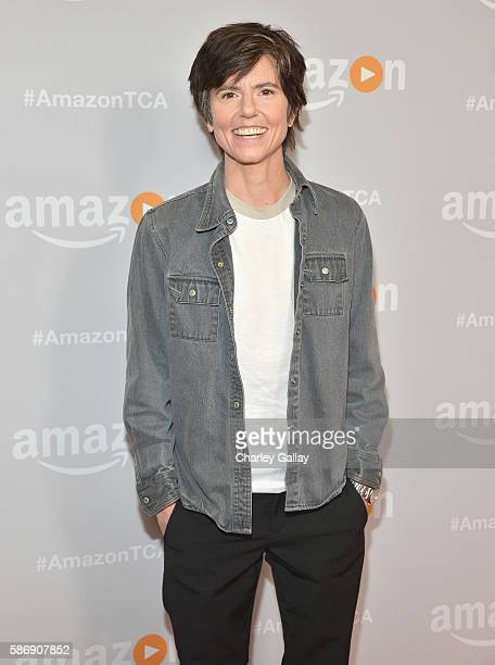 Comedian Tig Notaro attends the Amazon 2016 Summer TCA Press Tour at The Beverly Hilton Hotel on August 7 2016 in Beverly Hills California
