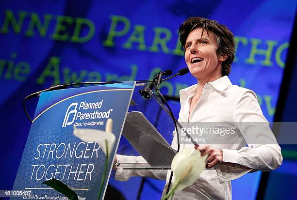 Comedian Tig Notaro emcees Planned Parenthood Federation Of America's 2014 Gala Awards Dinner at the Marriott Wardman Park Hotel on March 27 2014 in...
