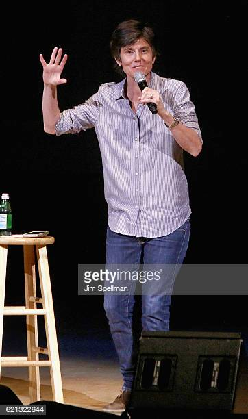Comedian Tig Notaro performs during New York Comedy Festival at Carnegie Hall on November 5 2016 in New York City
