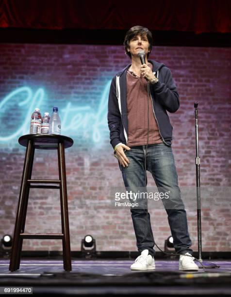 Comedian Tig Notaro performs onstage at The Bill Graham Stage during Colossal Clusterfest at Civic Center Plaza and The Bill Graham Civic Auditorium...