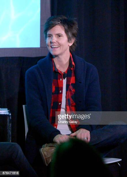 Comedian Tig Notaro speaks onstage during the 'Turning Point' Vulture Festival LA presented by ATT at Hollywood Roosevelt Hotel on November 19 2017...