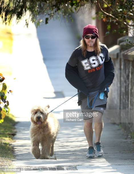 Comedian Tim Minchin is seen on August 21 2018 in Sydney Australia