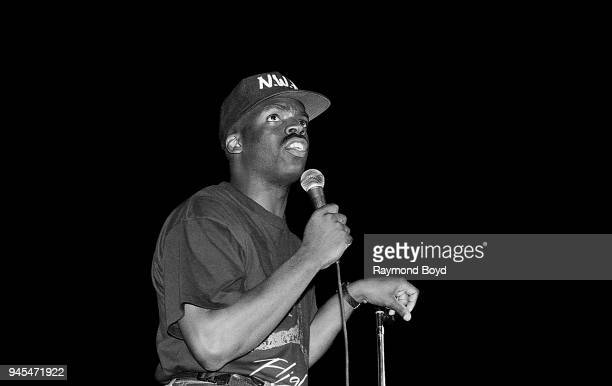 Comedian TK Kirkland performs at Market Square Arena in Indianapolis Indiana in June 1989