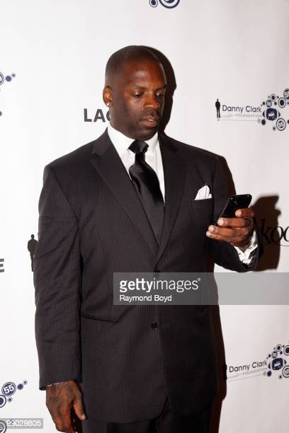 Comedian TK Kirkland poses for photos at the Harold Washington Cultural Center during the 2nd Annual Danny Clark Foundation Charity Weekend in...