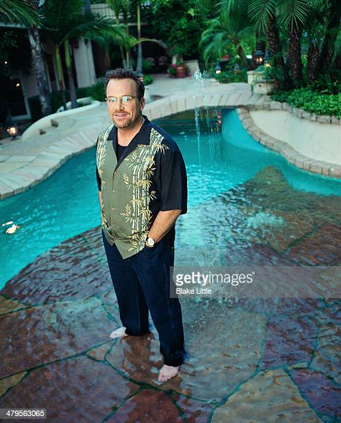 Comedian Tom Arnold is photographed for St Martin's Press on October 2 2002 in Los Angeles California