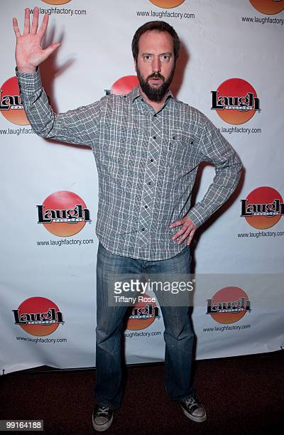 Comedian Tom Green attends George Carlin's Birthday celebration at The Laugh Factory on May 12 2010 in West Hollywood California