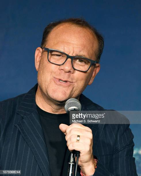 Comedian Tom Papa performs during his appearance at The Ice House Comedy Club on December 14 2018 in Pasadena California