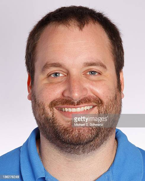 Comedian Tom Segura poses during his apearance at The Ice House Comedy Club on December 29 2011 in Pasadena California